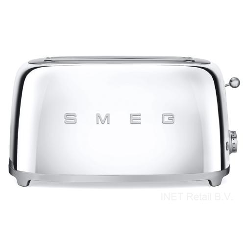 SMEG - 4 Schlitz-Toaster Chrome Serie 50 Jahre