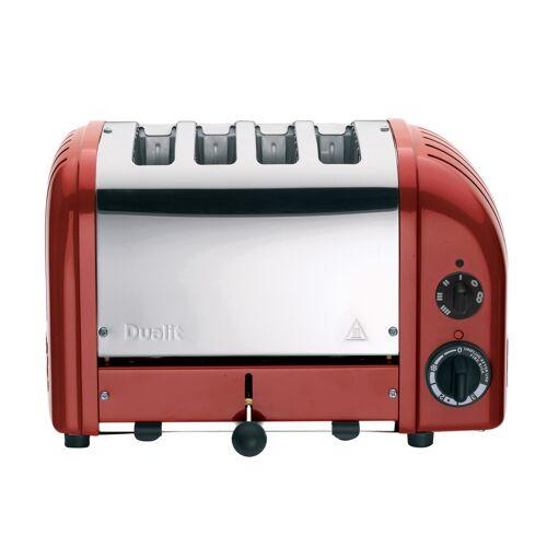 Dualit - 4 Slot Toaster 'NewGen' Rot