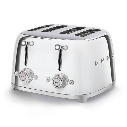 SMEG - 4x4 Toaster Chrom Serie 50 Jahre