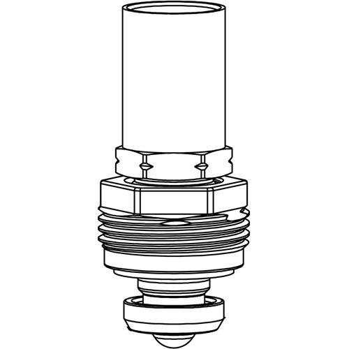 Heimeier Rtl Ersatz-Oberteil 1305-02.300 DN 10/15/20, 25mm Messinghülse