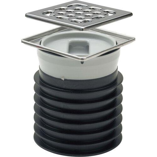 Viega Advantix Bodenablauf 660758 DN 100, Kunststoff grau, frostsicher