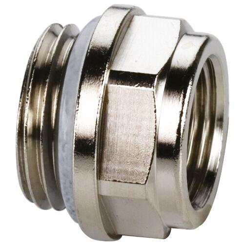 KSB Reduzierstopfen F10705 Standard, Messing vernickelt, G 1/2 MxG 3/8 F