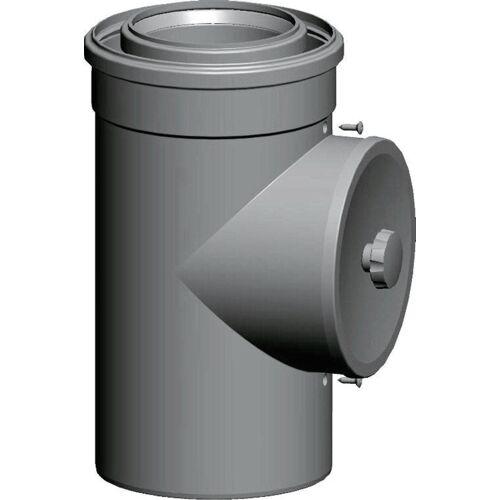 Wolf Luft-/Abgasrohr 2651552 DN 110/160, 250 mm, steckbar, mit Revisionsöffnung