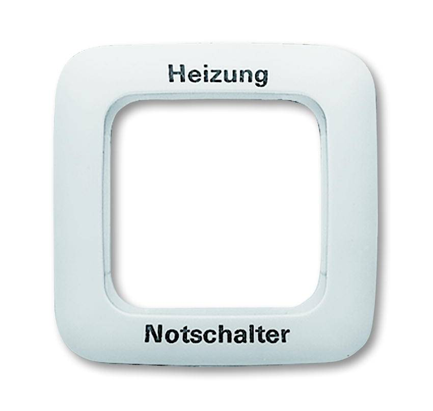 Universal Busch Jaeger Notschalter Reflex SI 2511 JH-214 alpinweiß Ral 9010 Heizung 1fach Rahmen IP20