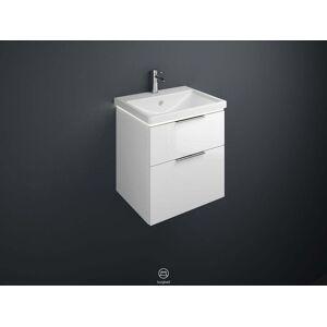 Burgbad Eqio Waschtisch mit Unterschrank SEZA063 63x66,5x49cm, weiß hochglanz, mit LED Beleuchtung