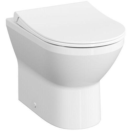 Vitra Integra Stand-Tiefspül-WC 7059B003-0088 35,5x54cm, 3/6 l, ohne Spülrand, mit Bidetfunktion, weiß