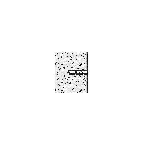 HEWI Klappsitz-Befestigung 801/805 Porenbeton (größer P2)