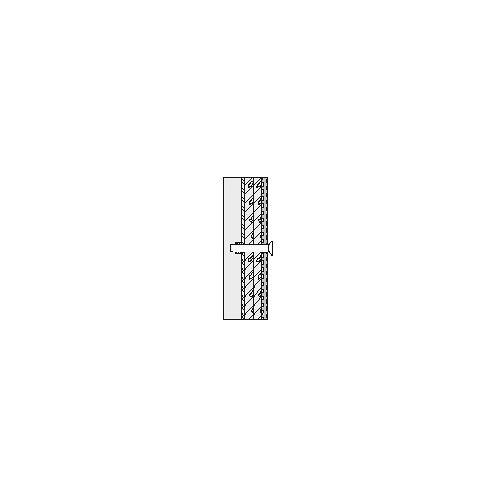 Hewi 801/805 Klappsitz-Befestigung BM23.4 Leichtbauwände mit integrierten Stahl