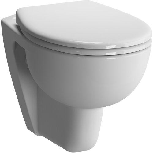Vitra Conforma Wand-Tiefspül-WC 5812B003-0075 weiß, 35,5x54cm, Rollstuhlgerecht, plus 6cm, Sitzhöhe 48cm