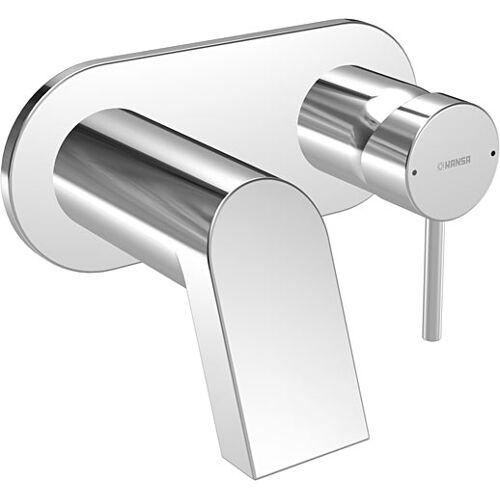 Hansa Waschtischarmatur Hansastela 57832171 Ausladung 160 mm, chrom, Wand-Armatur