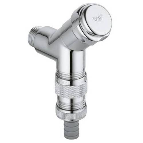 Grohe WAS Anschlussventil 41015000 chrom, DN15