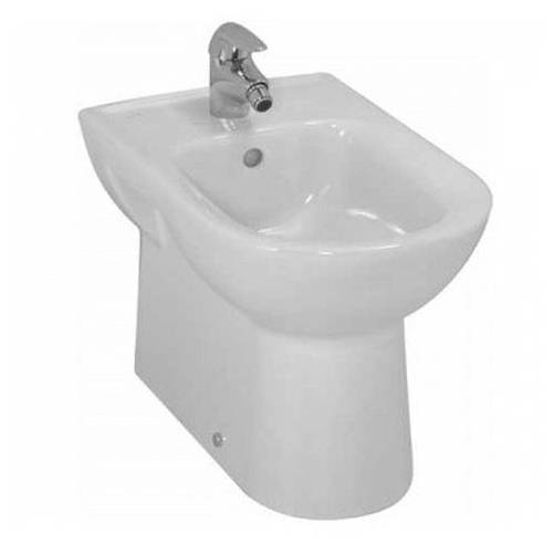 Laufen Pro Stand-Bidet 8329514003041 weiß, Laufen Clean Coat, 1 Hahnloch, 36 x 58 cm