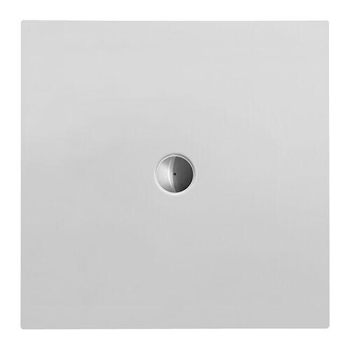 Duravit Quadrat-Duschwanne DuraPlan 100x100x3,5cm, weiß, bodenbündig, Antislip