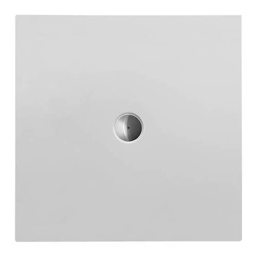 Duravit Quadrat-Duschwanne weiss, 100 x 100 x 3,5 cm, bodenbündig