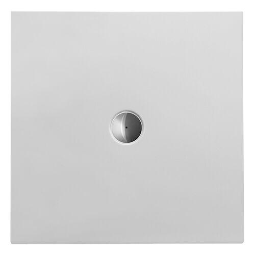 Duravit Quadrat-Duschwanne weiss, 90 x 90 x 3,5 cm, bodenbündig