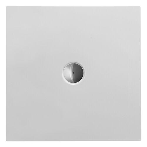 Duravit Quadrat-Duschwanne DuraPlan 80x80x3,5cm, weiß, bodenbündig, Antislip