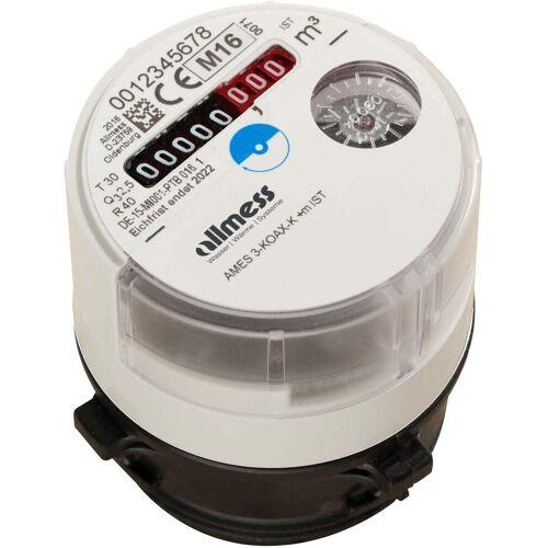 Allmess Koax 2 Austauschwasserzähler 0431112206 MES 3K KU+m, Q3 2,5, DN 15, kalt bis 30 °C, 75mm