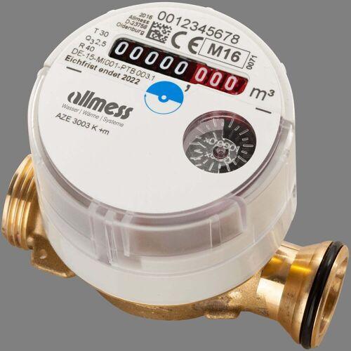 Allmess System V Austauschwasserzähler 0902112206 AZE-3003-K+m, Q3 2,5, DN 15, 86 mm, bis 30 °C