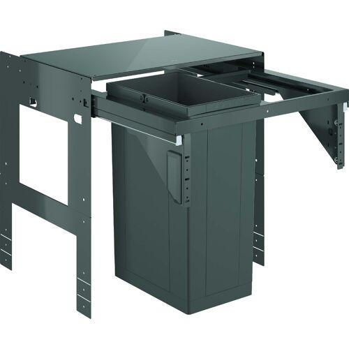Grohe Blue Mülltrennsystem 40980000 einfach, 1x 29 Liter, 60 cm, grau
