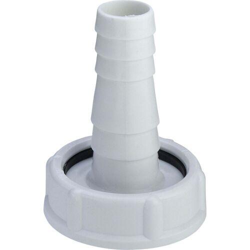 Viega Tülle 390655 G 1 1/2x20-24mm, Kunststoff weiß, mit Mutter und Dichtung