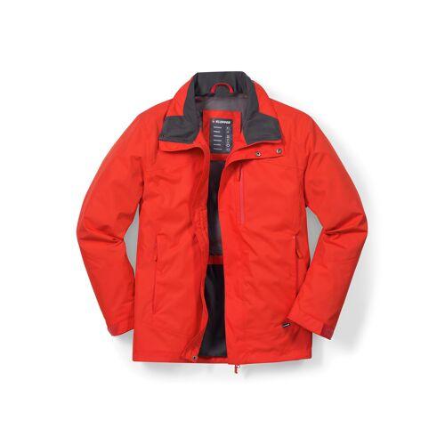 Klepper Herren Jacke Wetterschutz einfarbig Orange