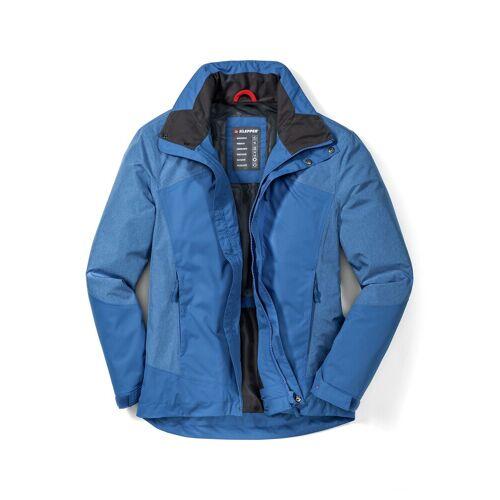Klepper Herren Jacke Wetterschutz einfarbig Türkis