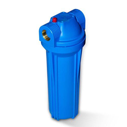 Aquafilter USA 25,4cm/10 Zoll Wasserfilter Gehäuse blau/blau mit 3/4