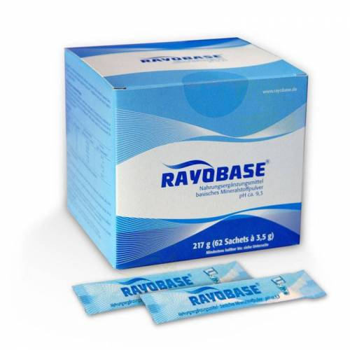 Rayonex Rayobase Pulver 217 g, 62 Sachets mit je 3,5 g