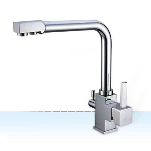 Wasserstelle GmbH Design-Drei-Wege-Wasserhahn Imperia, 3-Wege-Wasserhahn