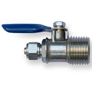 N.N. Kugelhahn für Wasseranschluss Umkehrosmose 1/2 AG x 1/4 Schlauch