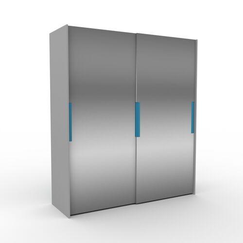 MYCS Kleiderschrank Grau - Individueller Designer-Kleiderschrank - 204 x 233 x 65 cm, Selbst Designen, nur bei MYCS