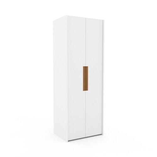 MYCS Kleiderschrank Weiß - Individueller Designer-Kleiderschrank - 84 x 233 x 62 cm, Selbst Designen, nur bei MYCS