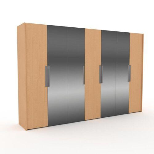 MYCS Kleiderschrank Buche - Individueller Designer-Kleiderschrank - 354 x 233 x 62 cm, Selbst Designen, nur bei MYCS