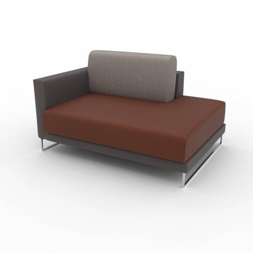 MYCS Relaxsessel Cognac - Eleganter Relaxsessel: Hochwertige Qualität, einzigartiges Design - 132 x 75 x 98 cm, Individuell konfigurierbar