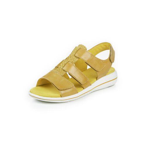 Green Comfort Damen Green Comfort-Sandale Extraweich Gelb
