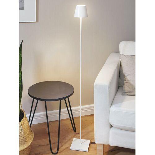 Avena Herren LED-Standleuchte kabellos Weiß