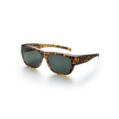 Avena Herren Überzieh-Sonnenbrille Leo Braun