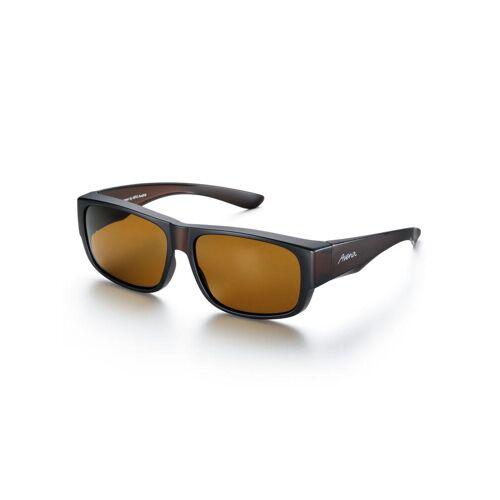 Avena Herren Überzieh-Sonnenbrille Schwarz