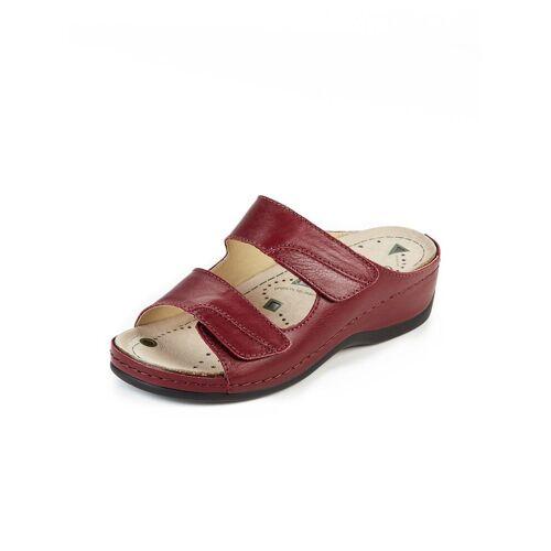 Avena Damen Magnetfußbett-Pantolette Rot