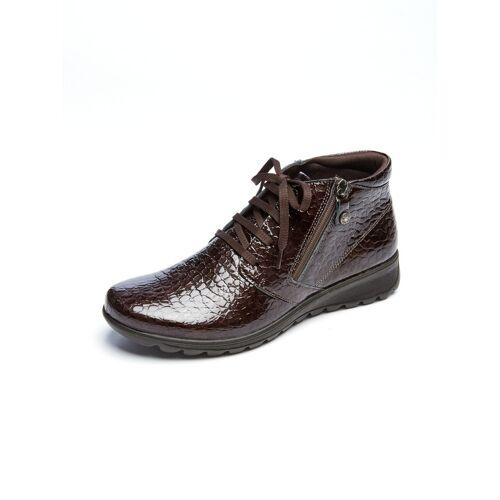 Avena Damen Luftkissen-Kroko-Boots Ultraleicht Braun