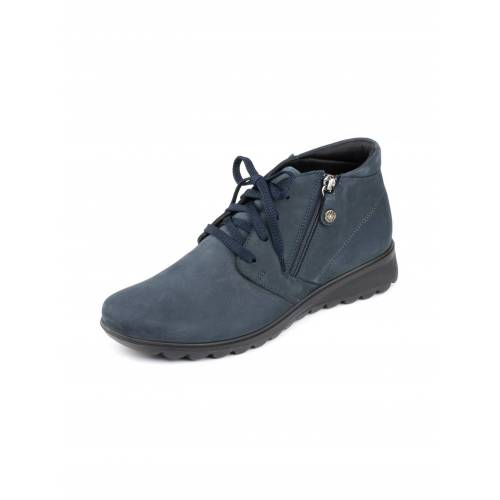 Avena Damen Luftkissen-Nubuk-Boots Ultraleicht Blau