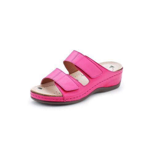 Avena Damen Magnetfußbett-Klett-Pantolette Rosé