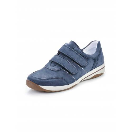Avena Damen Komfort-Klettslipper Blau