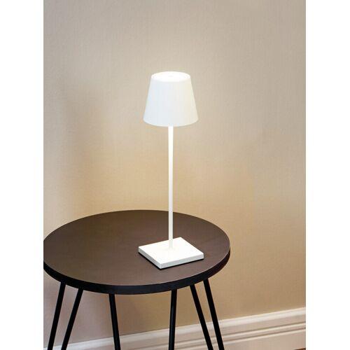 Avena Herren LED-Tischleuchte kabellos Weiß