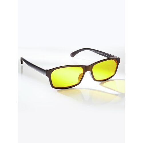 Avena Herren Blaulichtfilter-Brille Schwarz