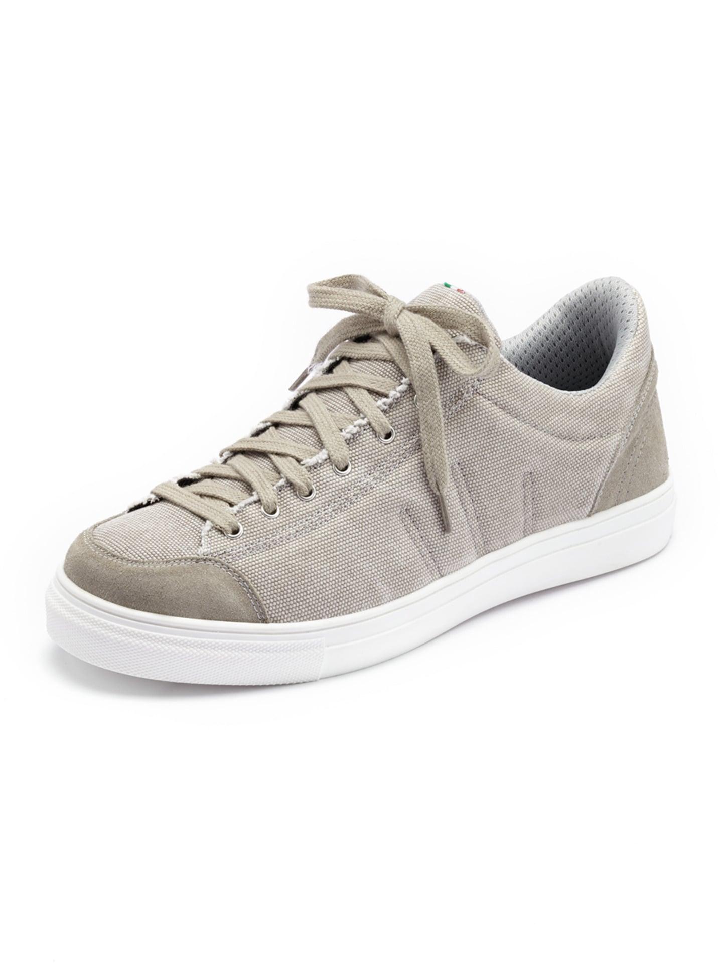 Avena Herren Bequem-Sneaker Fußfreude Grau