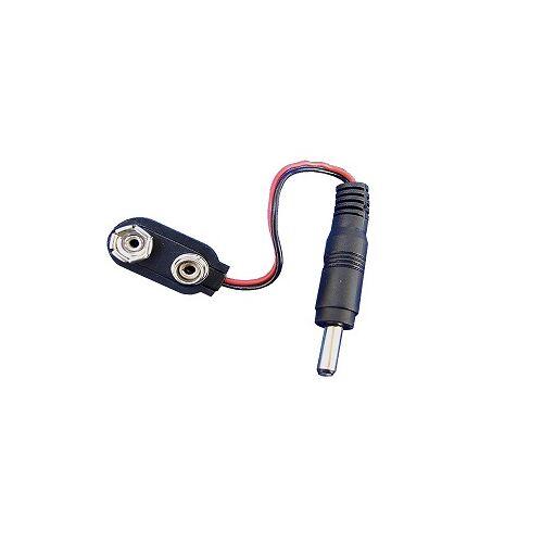 Anykam Adapterkabel für 9V Blockbatterie, für mini Funkkameras