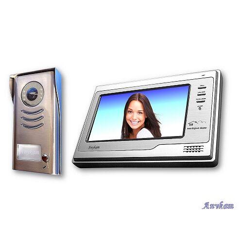 Anykam DT591+692 Videosprechanlage Türsprechanlage Gegensprechanlage Kamera 2-Draht