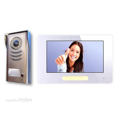 Anykam DT591+ 37 Video Türsprechanlage Gegensprechanlage Klingelanlage 2-Draht Technik