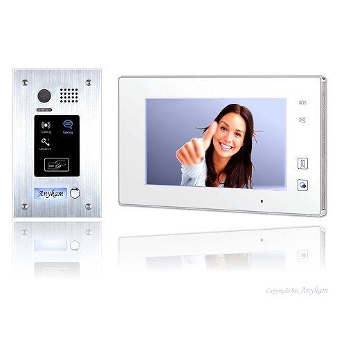 Anykam DT596FID+ DT47MW Videosprechanlage Türanlage Gegensprechanlage RFID Türöffner